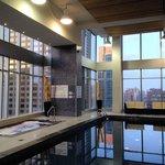 Top floor pool