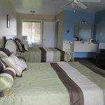 Chambres à 2 lits doubles