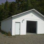Garage pour VTT, motoneige, moto et motomarine
