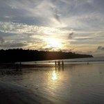 Jimbaran Beach at Sunset