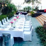 Wedding dining at the Lotus