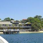 Beach House from Half Moon Bay