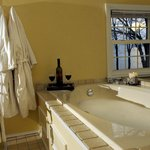 Jacuzzi tub in the Sunset Suite
