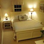 Bedroom of the Sturgeon Suite