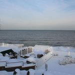 Winter view of Lake Erie