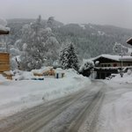 Route du Lery vers la Turche