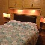 Double bedroom in Wren Cottage