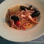 Spaghetti di mare. Mmmhhhh buonissimi!!