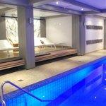 L espace piscine