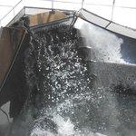 waterfall look of tub