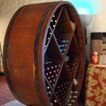 Wine Rack - Crouching Lion Restaurant, Kaaawa, Oahu, HI