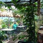 Outddor Seating - Crouching Lion Restaurant, Kaaawa, Oahu, HI