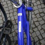 Elke fiets heeft een naam :-)