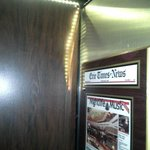Light falling from elevator