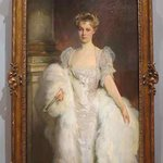 John Singer Sargent (1856-1925). Portrait of Mrs. J. P. Morgan Jr. (1906).