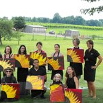 Painting at Penns Woods Winery