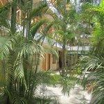 Hotel's courtyard