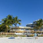 View of Resort from Vanderbilt Beach