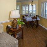 Deluxe Beachview Junior Suite Dining Area