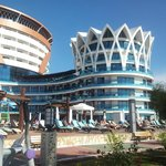Hotel von der Meerseite