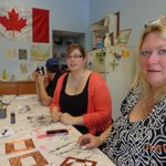 Us in the Craft room at the Rec center