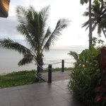 View from beach bar.