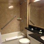 very clean washrooms