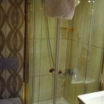 The shower stall