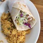 Fish Burrito (Salmon)