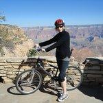 En bicicleta por el rim
