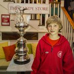 Adrian van der Wal future Americas Cup sailor and Newport local.