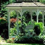 Enjoy our flower gardens and wedding gazebo.