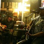 Live music... it's an old photo from 2011. Been a customer since.