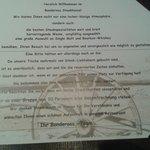 Restaurant Regelwerk