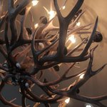 Elk Lamps in Lobby