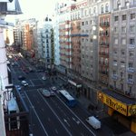 Gran via ( Main Street ) view from the room
