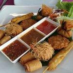 Sea Hag mixed appetizer platter... Mmmm!