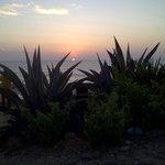 sunset on the ecuator