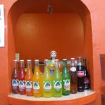 Wide selection of Jarritos Mexican drinks