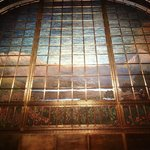 Tiffany Curtain in Bellas Artes