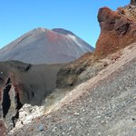 """Mt Doom"" and the Red Crater"