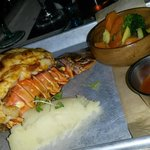 Caribbean Grilled Lobster