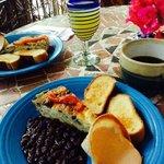 Bungalows breakfast