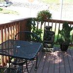 Yong's outdoor deck