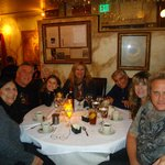 Mike Wren's birthday dinner  with family at Aliotta's Via Firenze