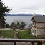 Vista al lago desde cabaña de 1 dormitorio