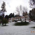 Hotel con nieve