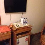 Les meubles à l'intérieur des chambres