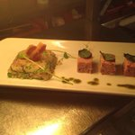 Ham hock, pea & mint risotto with homemade ham hock & wholegrain mustard terrine