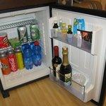 Room : frigo a nostra disposizione (ottimi prodotti di qualita')